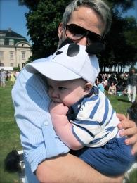 Hugo and Dad