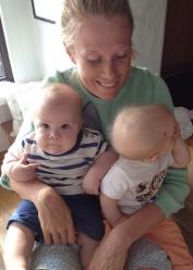 Twins and Mom