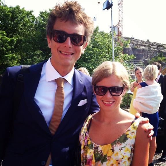 Johan and Tina