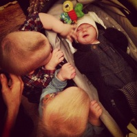Arvid and the twins