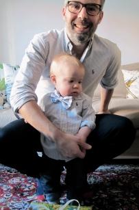 Dad and Hugo