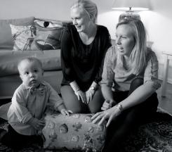 Hugo, Maria and Charlotte