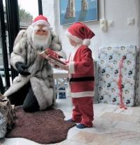 Santa and Oskar