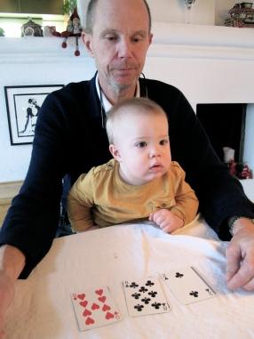 Hugo playing cards