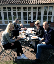 Eastern Lunch at Fredriksdal