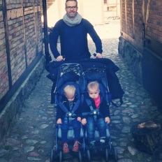 Lilly, Hugo and Dad