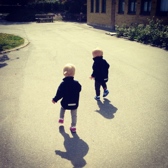Twins from kindergarden