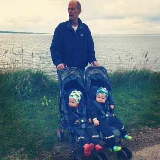 Grandfather and the twins