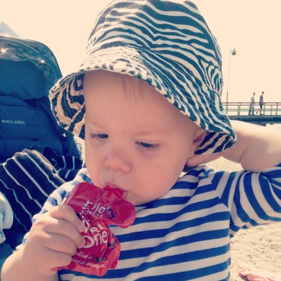 Hugo i strandmössan