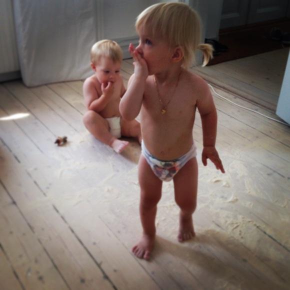 Lilly och Hugo busiga