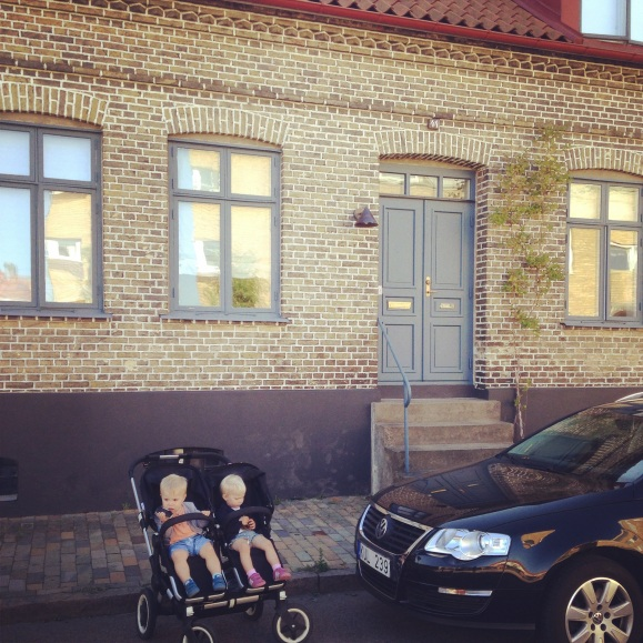 Villa barn bil
