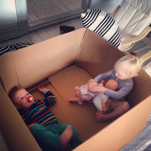 Bus i en låda