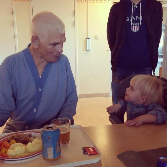 Gammelmorfar och Lilly