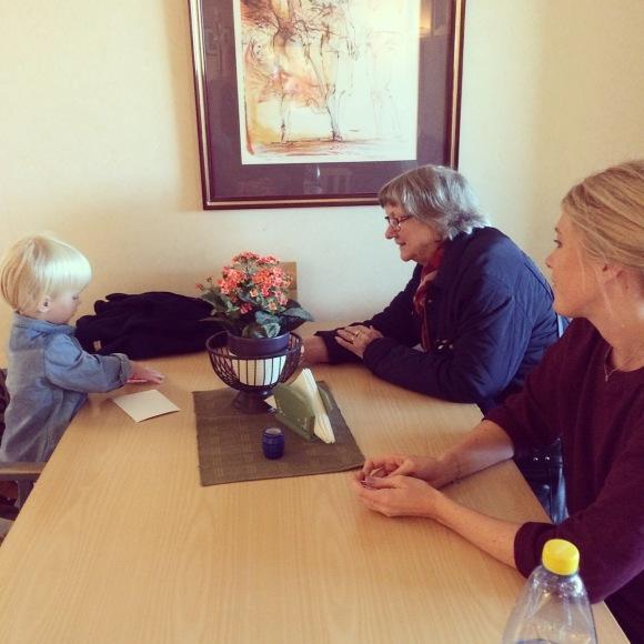 Lilly och Gammelmormor