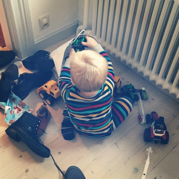 Hugo och skor