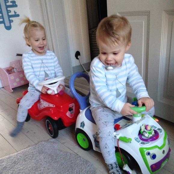 Action med bilarna