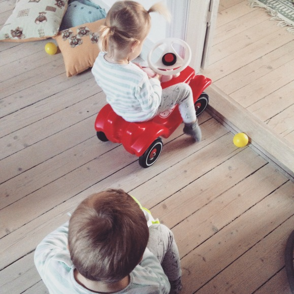 Racing med bilarna