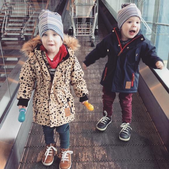 Kul i rulltrappan