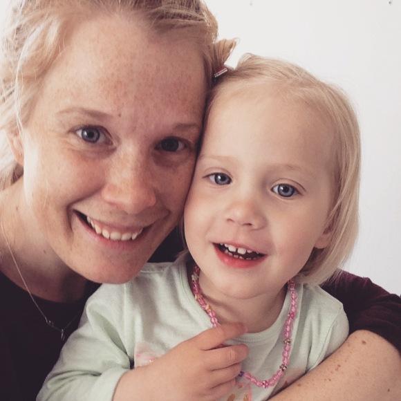 Mamma och Lilly