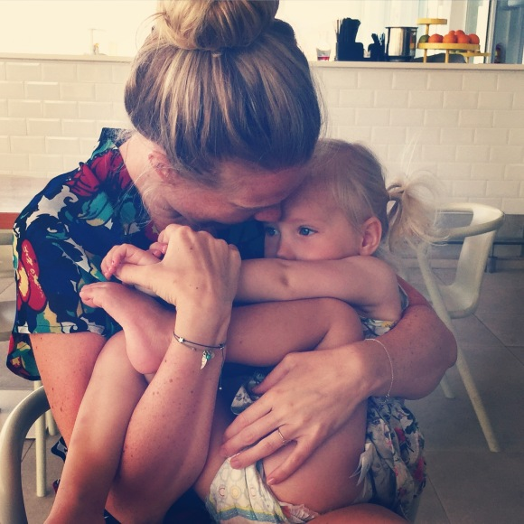 Mamma kramar Lilly