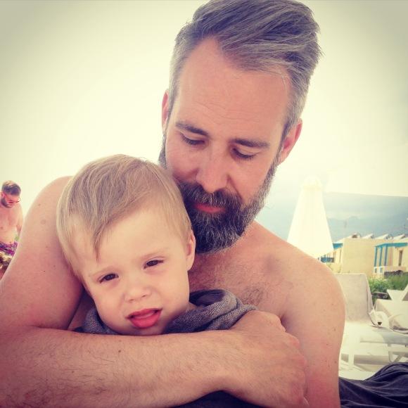 Pappa och Hugo