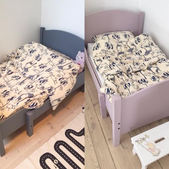 Nya sängarna