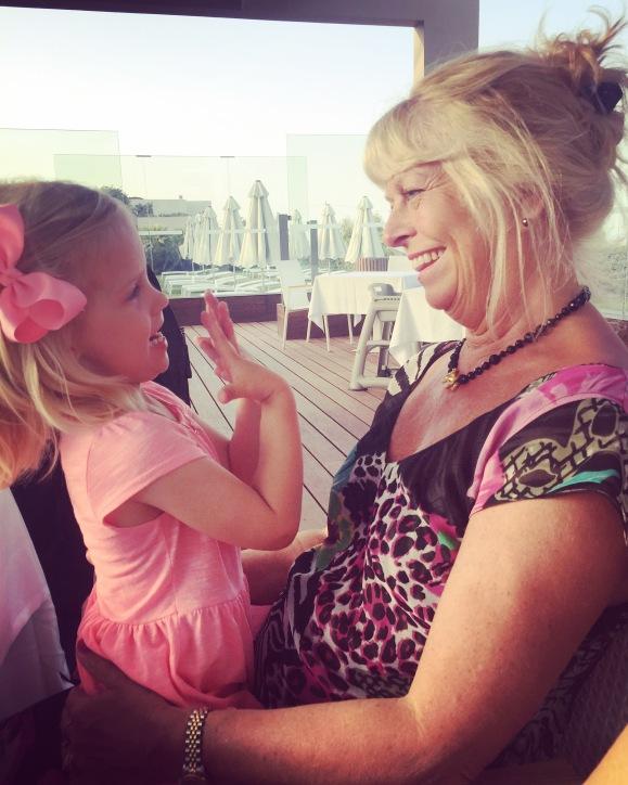 Lilly och mormor