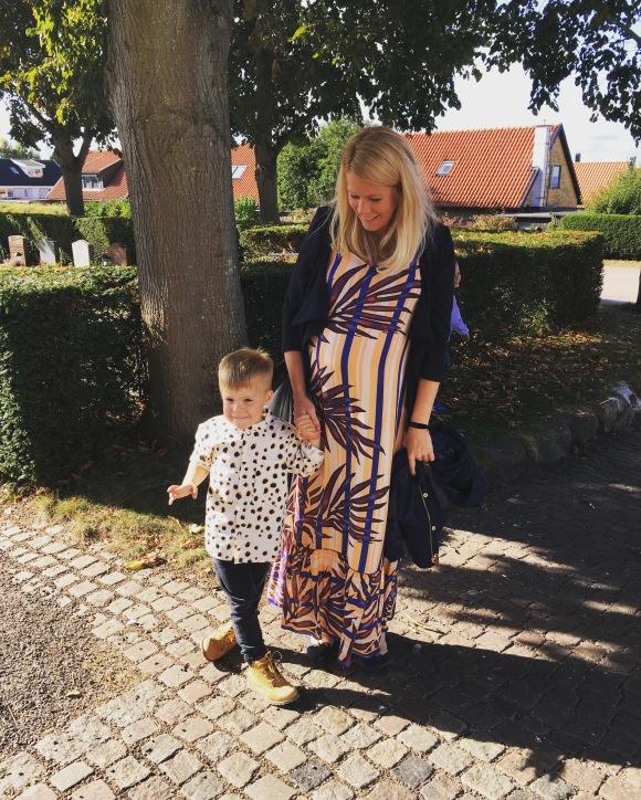 Hugo och mamma